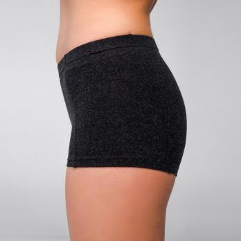 Трусы шорты термо низкая талия 50% шерсть женские Hetta WB06 S sagnei