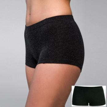 Трусы шорты термо низкая талия 50% шерсть женские Hetta WB06 XL sagnei