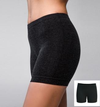 Трусы-панталоны термо шорты женские удлинённые 50% шерсть Hetta WB08 S sagnei