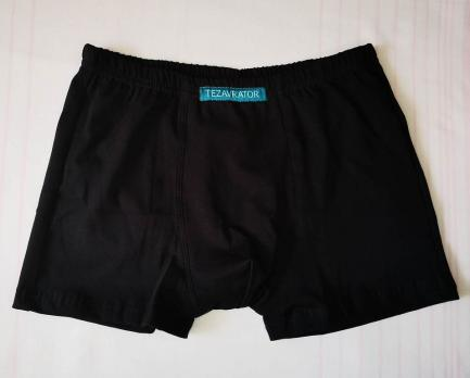 Трусы-шорты мужские Tezavrator МШ 950101 44 черные