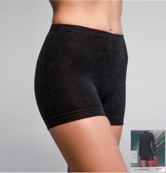 Трусы-панталоны термо шорты женские короткие 50% шерсть Hetta WB09 L sagnei